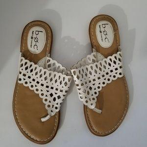 BOC Born Concept White Sandals